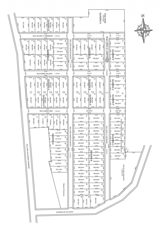 Mapa Concórdia II e III